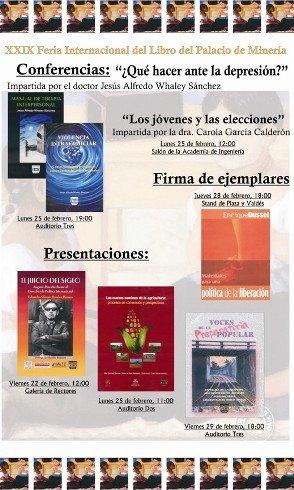 Imagen destacada Ferial Internacional del libro del Palacio de Minería