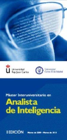 Imagen destacada Presentación del: Máster Interuniversitario en Analista de Inteligencia