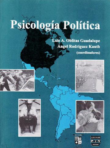 Portada PSICOLOGÍA POLÍTICA