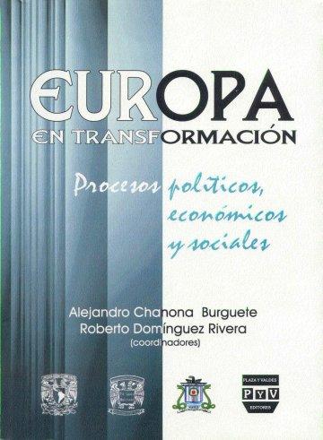 Portada EUROPA EN TRANSFORMACIÓN