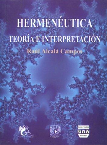 Portada HERMENÉUTICA TEORÍA E INTERPRETACIÓN