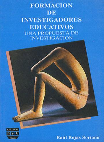 Portada FORMACIÓN DE INVESTIGADORES EDUCATIVOS