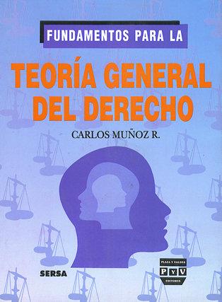 Portada FUNDAMENTOS PARA LA TEORÍA GENERAL DEL DERECHO