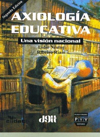 Portada AXIOLOGÍA EDUCATIVA