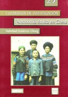 Portada AUTONOMÍA ÉTNICA EN CHINA