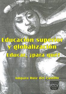 Portada EDUCACIÓN SUPERIOR Y GLOBALIZACIÓN