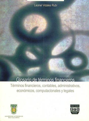Portada GLOSARIO DE TÉRMINOS FINANCIEROS