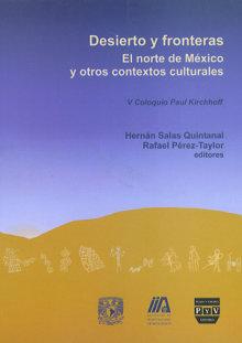 Portada DESIERTO Y FRONTERAS. El norte de México y otros contextos culturales