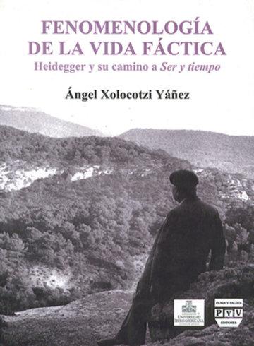 Portada FENOMENOLOGÍA DE LA VIDA FÁCTICA