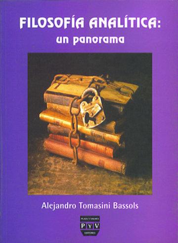Portada FILOSOFÍA ANALÍTICA: UN PANORAMA