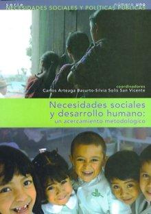 Portada NECESIDADES SOCIALES Y DESARROLLO HUMANO: UN ACERCAMIENTO METODOLÓGICO