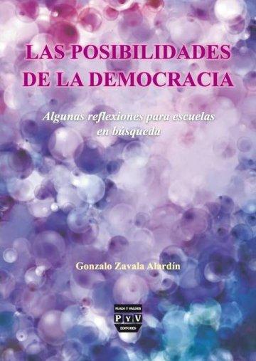 Portada LAS POSIBILIDADES DE LA DEMOCRACIA