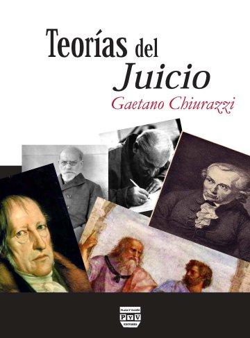 Portada TEORÍAS DEL JUICIO