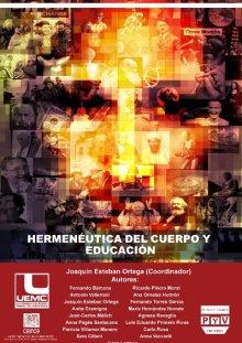 Portada HERMENÉUTICA DEL CUERPO Y EDUCACIÓN