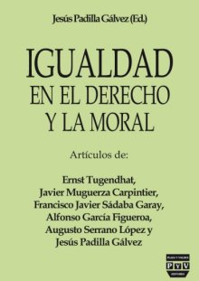 Portada IGUALDAD EN EL DERECHO Y LA MORAL