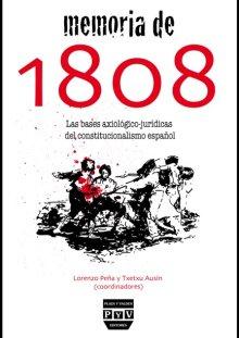Portada MEMORIA DE 1808