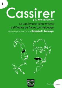 Portada CASSIRER Y SU NEO-ILUSTRACIÓN