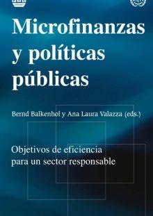 Portada MICROFINANZAS Y POLÍTICAS PÚBLICAS