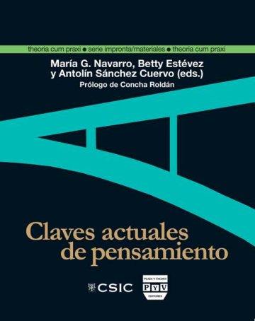 Portada CLAVES ACTUALES DE PENSAMIENTO