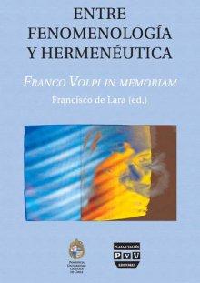 Portada ENTRE FENOMENOLOGÍA Y HERMENÉUTICA