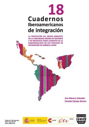 Portada CUADERNOS IBEROAMERICANOS DE INTEGRACIÓN. Nº 18