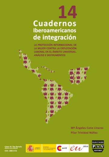 Portada CUADERNOS IBEROAMERICANOS DE INTEGRACIÓN. Nº 14