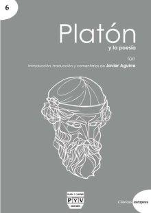 Portada PLATÓN Y LA POESÍA