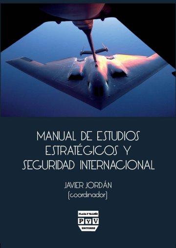 Portada MANUAL DE ESTUDIOS ESTRATÉGICOS Y SEGURIDAD INTERNACIONAL