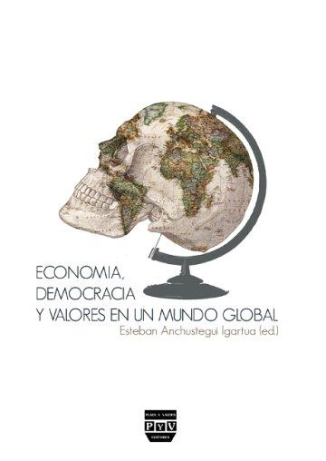 Portada ECONOMÍA, DEMOCRACIA Y VALORES EN UN MUNDO GLOBAL