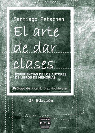 Portada EL ARTE DE DAR CLASES
