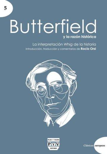 Portada BUTTERFIELD Y LA RAZÓN HISTÓRICA