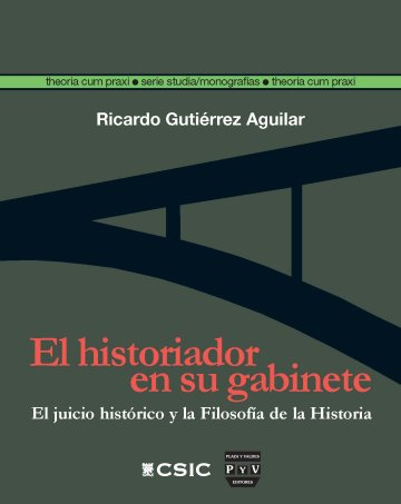 Portada EL HISTORIADOR EN SU GABINETE