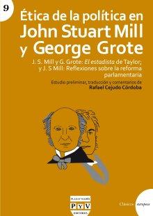 Portada ÉTICA DE LA POLÍTICA EN JOHN STUART MILL Y GEORGE GROTE