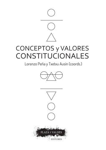 Portada CONCEPTOS Y VALORES CONSTITUCIONALES