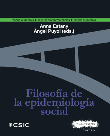 Portada FILOSOFÍA DE LA EPIDEMIOLOGÍA SOCIAL